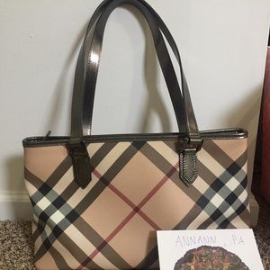Burberry tote bag authentic 100%